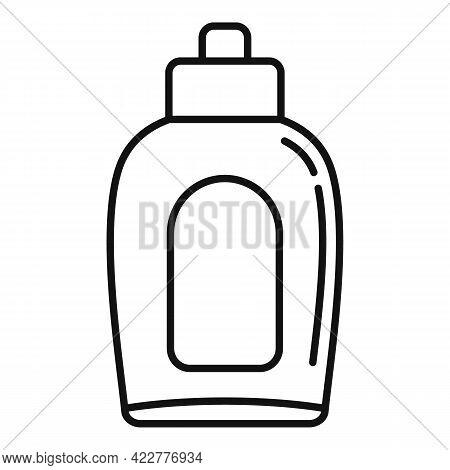 Softener Bleach Icon. Outline Softener Bleach Vector Icon For Web Design Isolated On White Backgroun