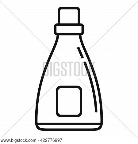Softener Antibacterial Icon. Outline Softener Antibacterial Vector Icon For Web Design Isolated On W