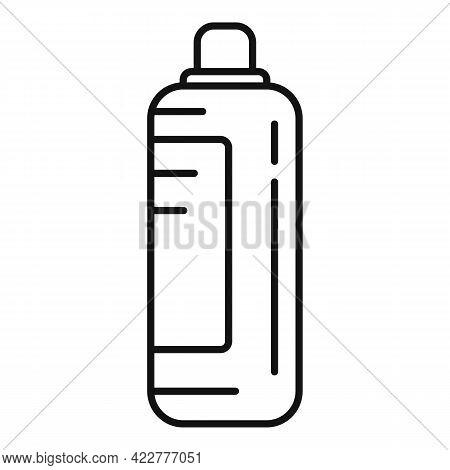 Softener Liquid Icon. Outline Softener Liquid Vector Icon For Web Design Isolated On White Backgroun