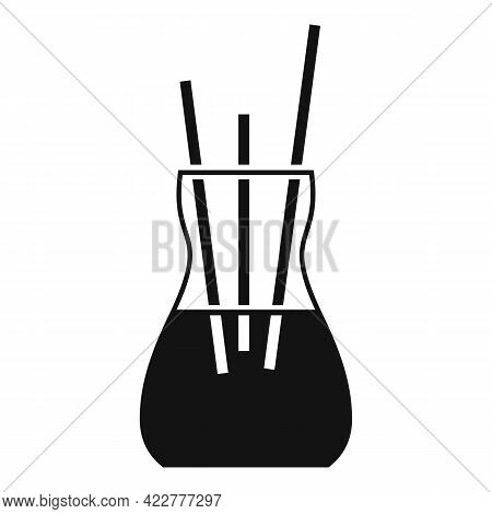 Essential Oils Sticks Icon. Simple Illustration Of Essential Oils Sticks Vector Icon For Web Design
