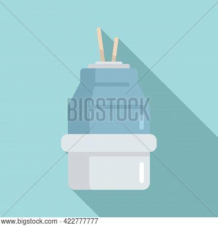 Enjoy Diffuser Icon. Flat Illustration Of Enjoy Diffuser Vector Icon For Web Design