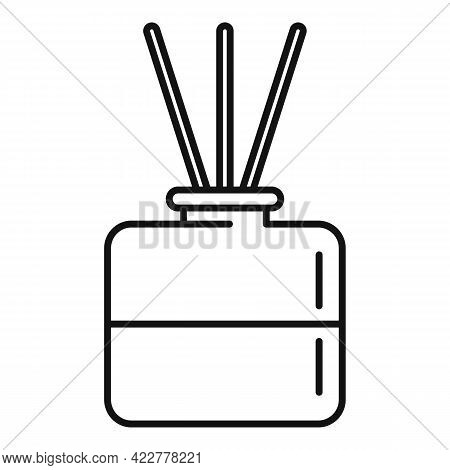 Essential Oil Diffuser Icon. Outline Essential Oil Diffuser Vector Icon For Web Design Isolated On W