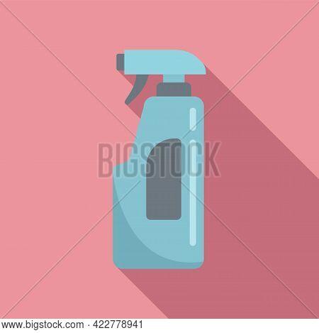 Disinfection Spray Icon. Flat Illustration Of Disinfection Spray Vector Icon For Web Design
