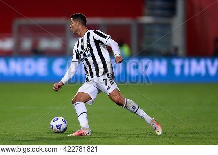 Reggio Emilia, Italy. 19th May 2021.cristiano Ronaldo Of Juventus Fc  During The Timvision Italian C