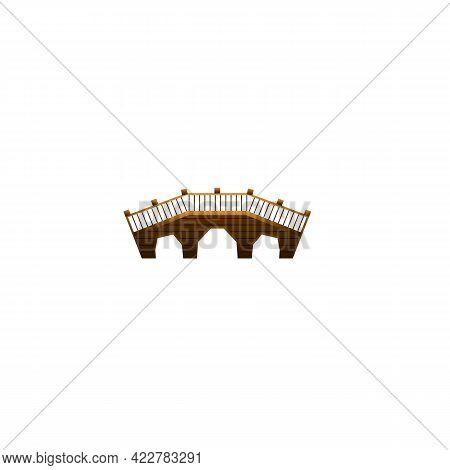 City Bridge Icon. Cartoon Of City Bridge Vector Icon For Web Design Isolated On White Background