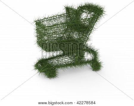Ecologic shopping cart