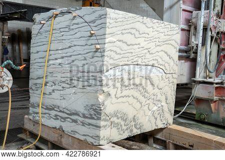 Cutting Granite Stone