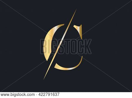 C Letter Logo Design. Luxury Letter C Logo Design Vector
