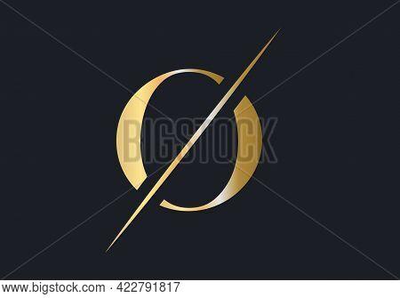O Letter Logo Design. Luxury Letter O Logo Design Vector