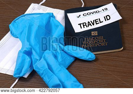Coronavirus Travel Id Passport Protection During International Traveling To Secure Not Spreading The