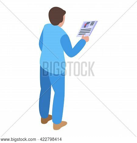 Arthritis Documents Icon. Isometric Of Arthritis Documents Vector Icon For Web Design Isolated On Wh