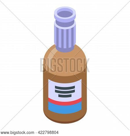 Cough Syrup Icon. Isometric Of Cough Syrup Vector Icon For Web Design Isolated On White Background