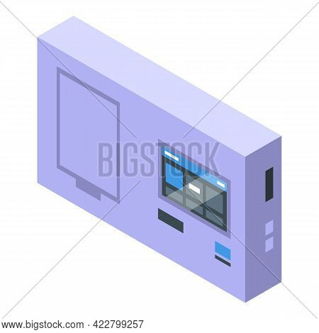 Covid Test Device Icon. Isometric Of Covid Test Device Vector Icon For Web Design Isolated On White