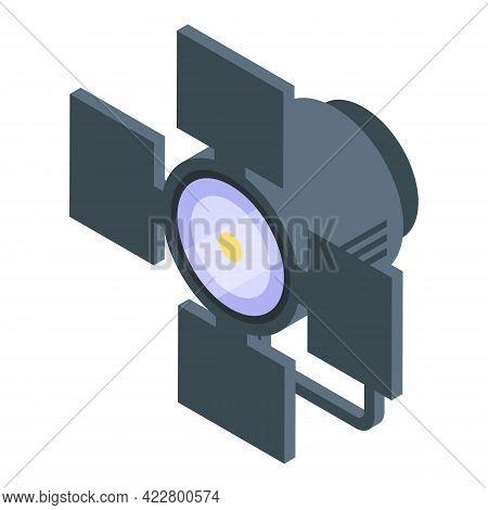 Brand Ambassador Spotlight Icon. Isometric Of Brand Ambassador Spotlight Vector Icon For Web Design