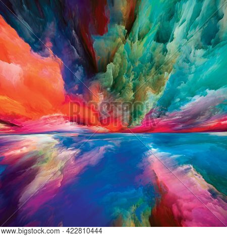 Heaven And Earth Abstraction