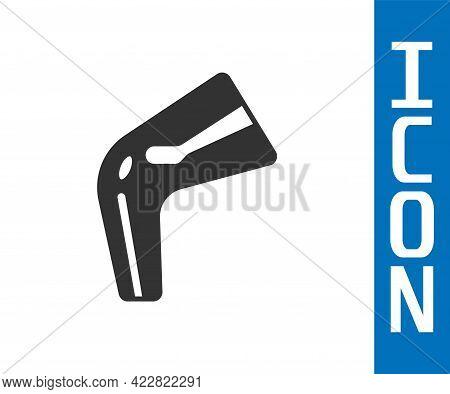 Grey Bone Pain Icon Isolated On White Background. Orthopedic Medical. Disease Of The Joints And Bone