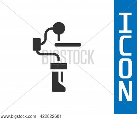 Grey Gimbal Stabilizer For Camera Icon Isolated On White Background. Vector