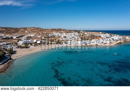 Greece, Pano Koufonisi Small Cyclades Island, Aerial Drone View