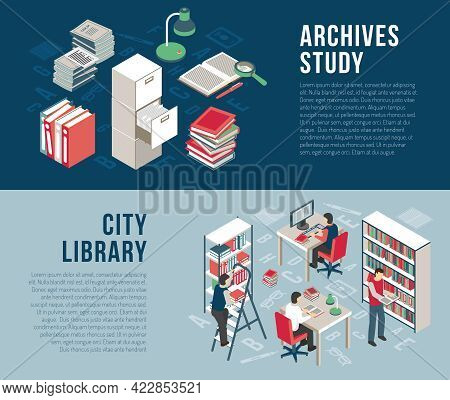 City University Studies Library Documents Archives And Catalog  Information 2 Horizontal Isometric B