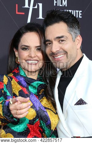 LOS ANGELES - JUN 2:  Lucy Chaparro, Omar Chaparro at the 7th and Union Premiere -  Los Angeles Latino International Film Festival at the TCL Chinese Theater IMAX on June 2, 2021 in Los Angeles, CA