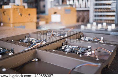 Metal Components And Microcircuits Blanks In Laboratory