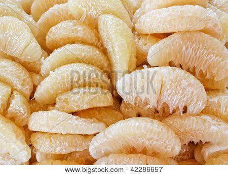 Pelado de Pummelo de fruta, fruta tailandesa