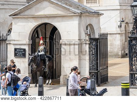 Horse Guards Is A Historic Building In The City Of Westminster, London, Between Whitehall And Horse