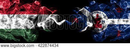 Hungary, Hungarian Vs United States Of America, America, Us, Usa, American, Fort Wayne, Indiana Smok