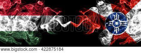 Hungary, Hungarian Vs United States Of America, America, Us, Usa, American, Wichita, Kansas Smoky Fl