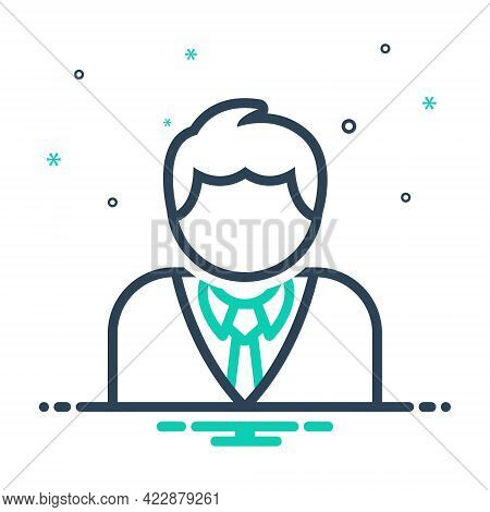 Mix Icon For Client Applicant Buyer Purchaser Consumer  Clientele Patronage