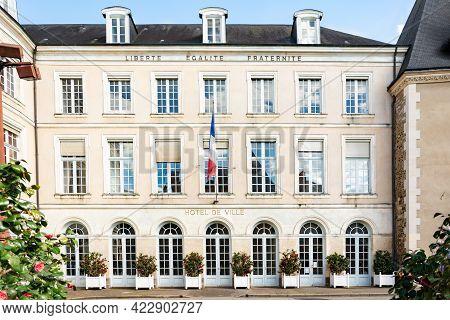 Le Mans, France - May 01, 2016: Hotel De Ville City Hall In Le Mans, France