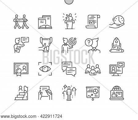 Training. Communication, Coaching, Potential, Motivation, Target. Presentation And Online Seminar. P