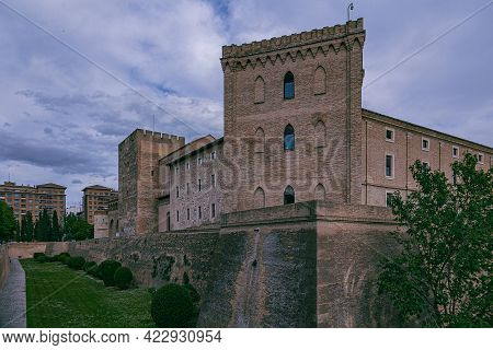 Beautiful Moorish Historic Palace In The Spanish City Of Zaragoza