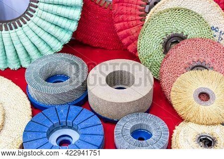 Various Type And Size Polishing Buffing Wheel Brush Wheel For Bench Grinder Or Hand Grinder For Clea