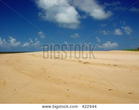 Areia de praia