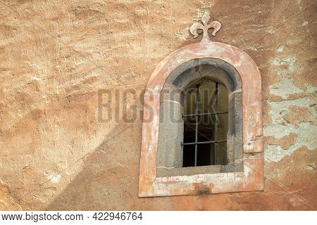 Detail Of Historic Building In Kremnica, Important Medieval Mining Town, Slovakia, Europe.