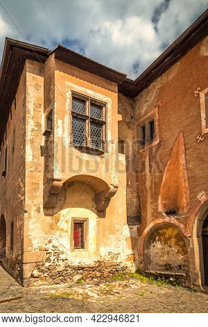 Historic Building In Kremnica, Important Medieval Mining Town, Slovakia, Europe