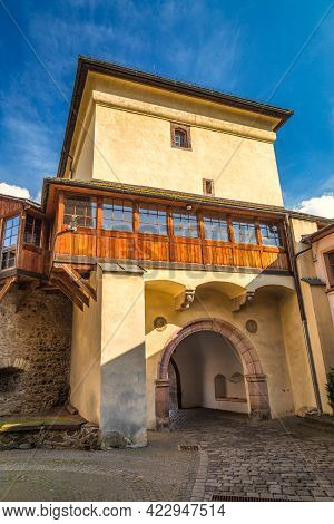 Barbican In Kremnica, Important Medieval Mining Town, Slovakia, Europe.