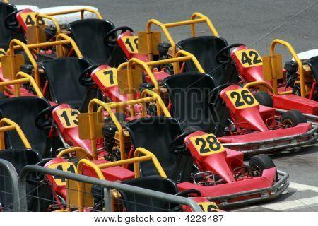 Go Karts Ready To Go