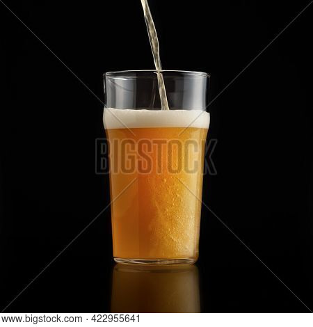 Pint Of Fresh Drink, Craft Lager, Delicious Ale Ad