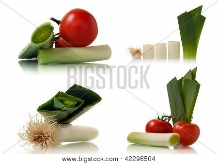 Leek And Tomato