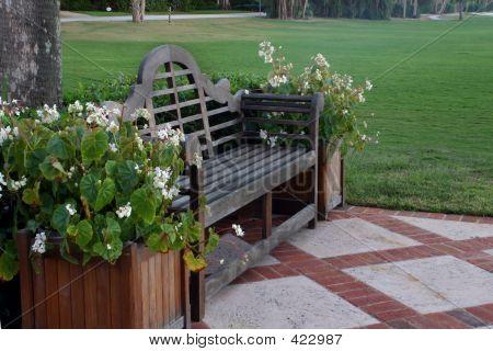 Golf Bench