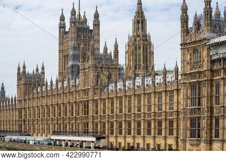 The Palace Of Westminster Serves As The Meeting Place Of The House Of Commons And The House Of Lords