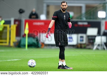 Milano, Italy. 16 May  2021. Gianluigi Donnarumma Of Ac Milan  During The Serie A Match Between Ac M