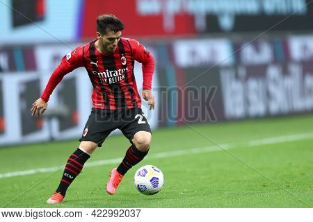 Milano, Italy. 16 May  2021. Brahim Diaz Of Ac Milan  During The Serie A Match Between Ac Milan And