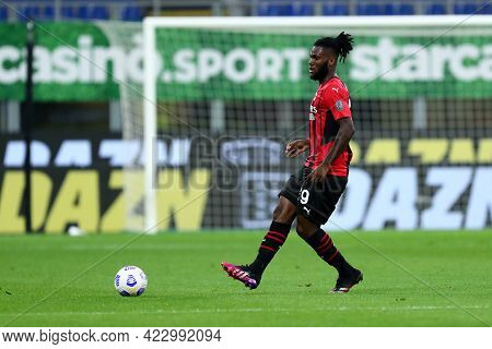 Milano, Italy. 16 May  2021. Frank Kessie Of Ac Milan  During The Serie A Match Between Ac Milan And