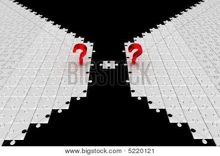 Questions. Puzzle. Idea