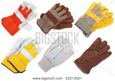 Leather Gloves. The Assortment