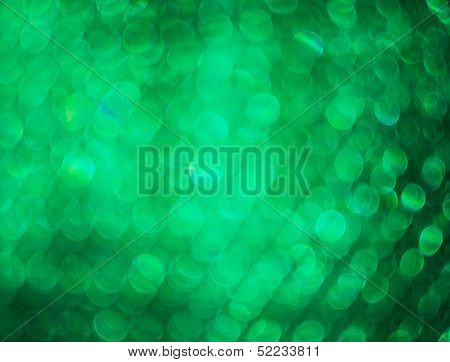 Green Photo Of Bokeh Lights