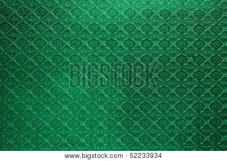 Green Tiled Glass